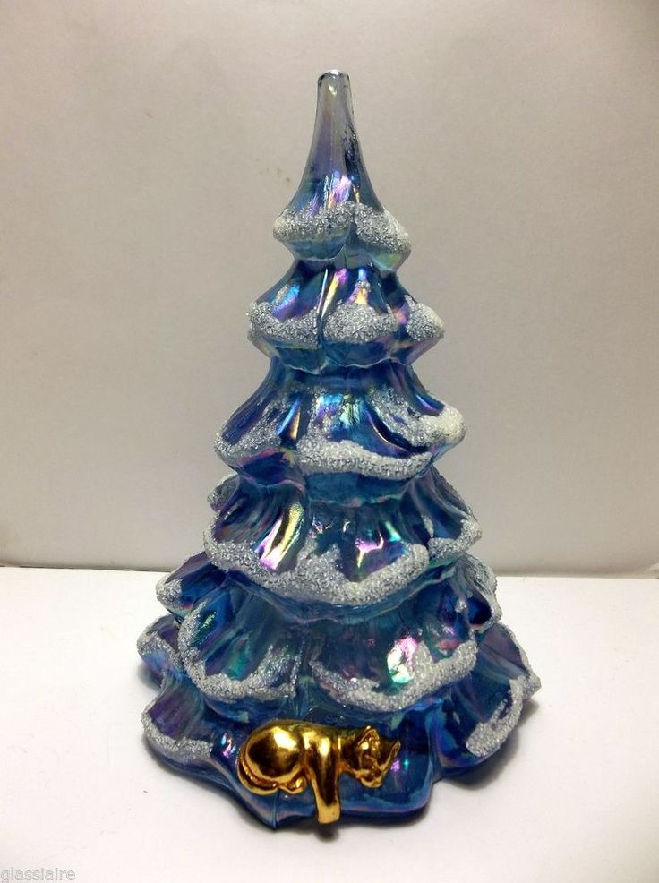 Images about fenton glass christmas trees on