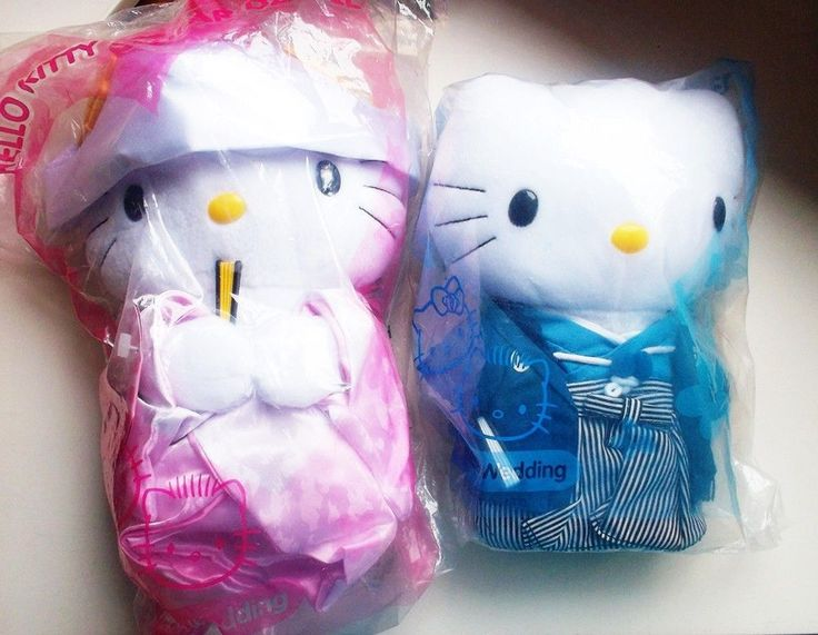 Wedding Gift Ideas For Japanese Couple : ... 1999 Hello Kitty Dear Daniel Japanese Wedding Gift Plush Dolls Couples
