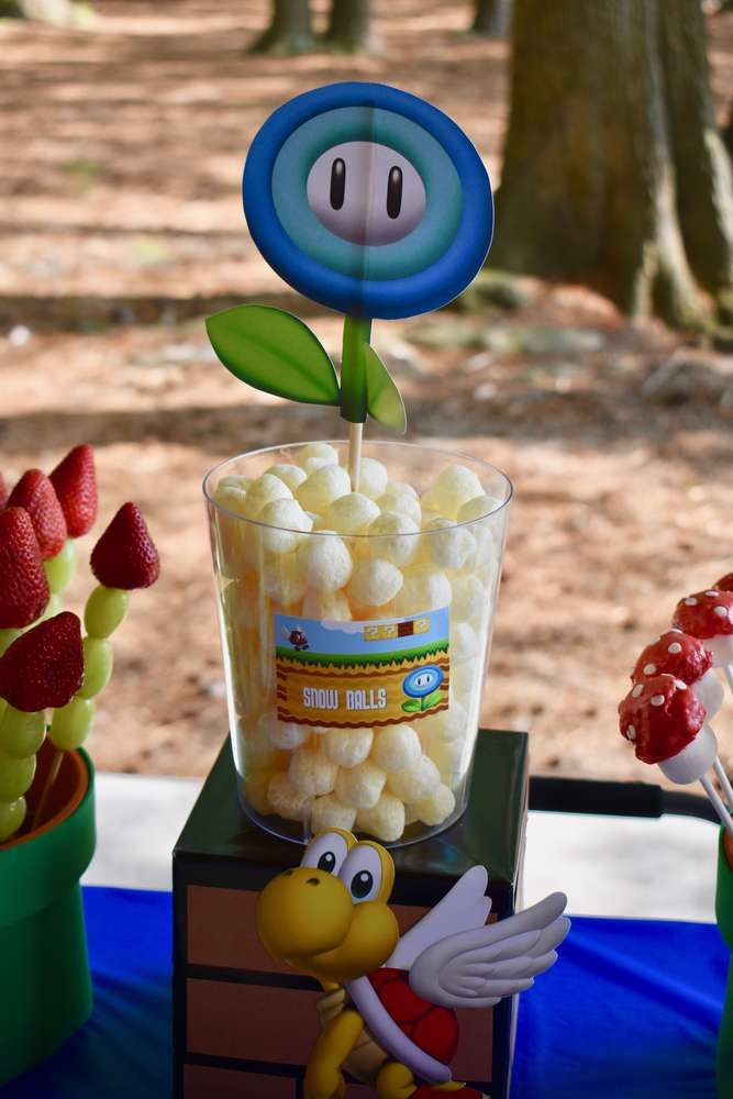 Super Mario Bros Birthday Party Ideas | Photo 1 of 10