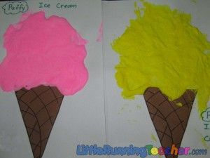 preschool activities: Preschool Activities, Cream Ice, Homeschool Kidscrafts, Ice Cream Crafts, Activities Preschool Spring, Activities Ice, Icecream Preschool, Ice Cream Art