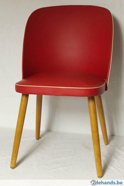 1088 Vintage 50er-jaren stoel.