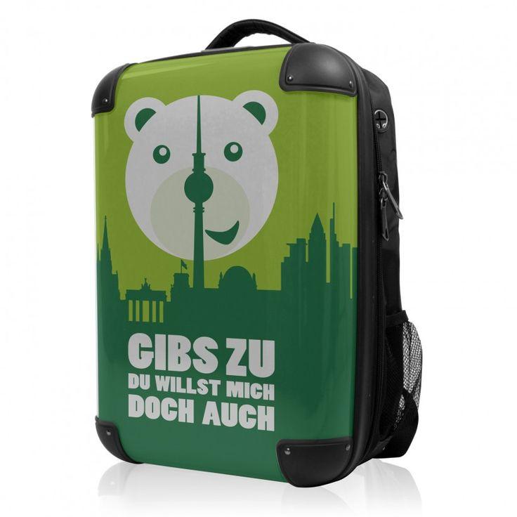 """BLNBAG - Rucksack Weich/Hart Hybrid Design: Gibs zu in Grün, 50 cm, 28 Liter; Grüner #Rucksack aus der Serie """"BLNBAG"""" von #Hauptstadtkoffer.  #Hartschalenkoffer #Handgepäck #Grün #Koffer #Travel #Luggage #Reisen #Urlaub #green #Berlin => mehr grüne Koffer: https://hauptstadtkoffer.de/de/reisegepack/alle-produkte?color=137"""