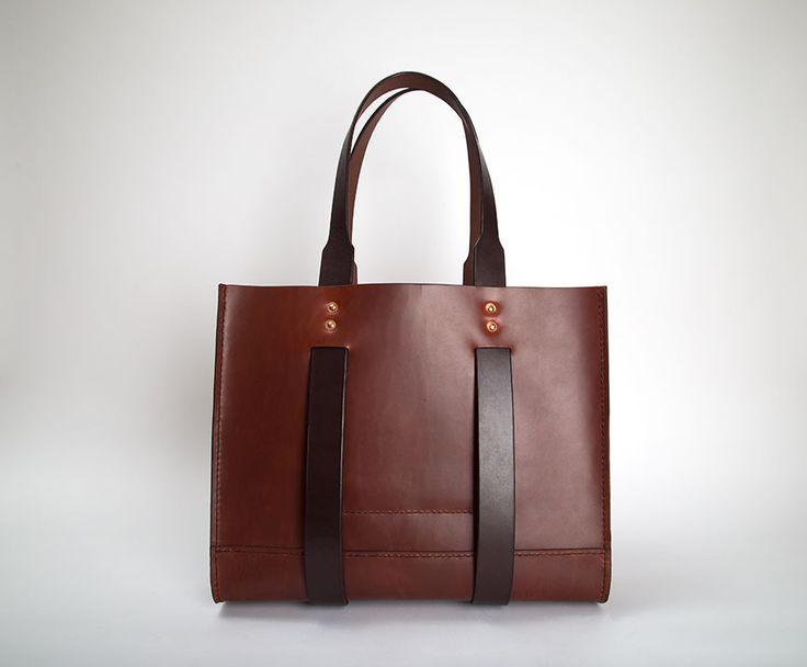 Statement Bag - Rust Ash & Patena by VIDA VIDA EGobB