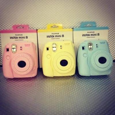 Fuji Instax Polaroid Cameras. Sooo Chic!
