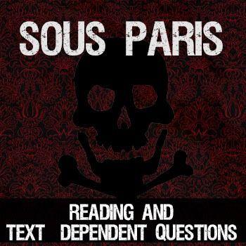 Sous Paris - a reading about the world underneath the streets of Paris.