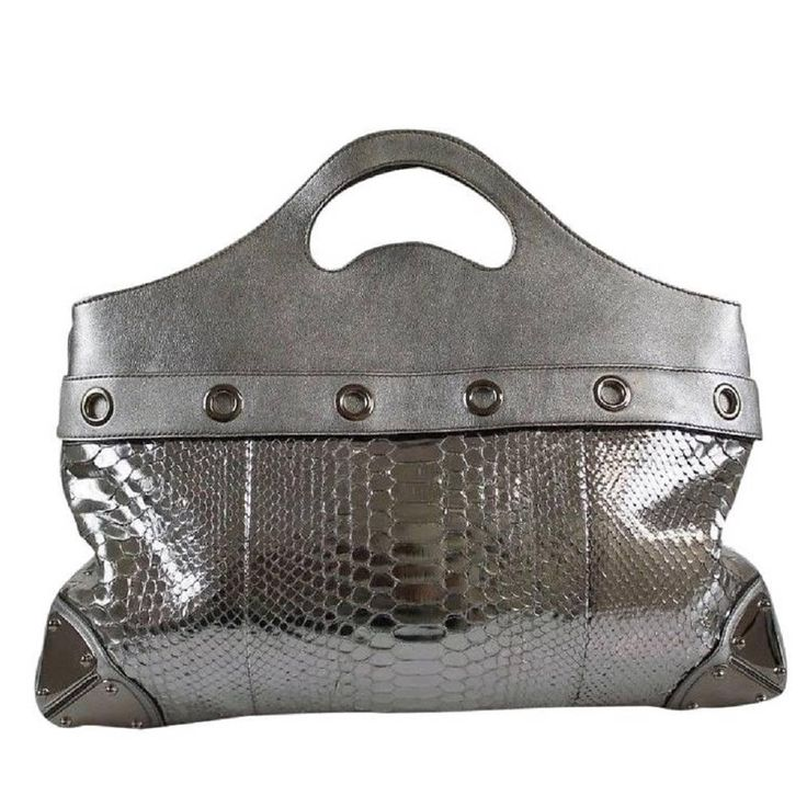 Best 25  Silver tote bags ideas on Pinterest