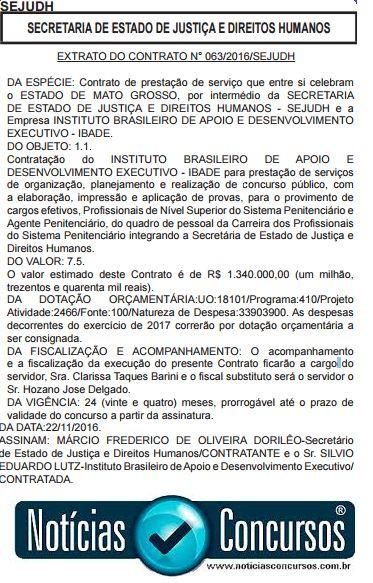Concurso AGEPEN Agente Penitenciário MT 2016/2017: Organizadora é definida para 782 vagas! - https://anoticiadodia.com/concurso-agepen-agente-penitenciario-mt-20162017-organizadora-e-definida-para-782-vagas/