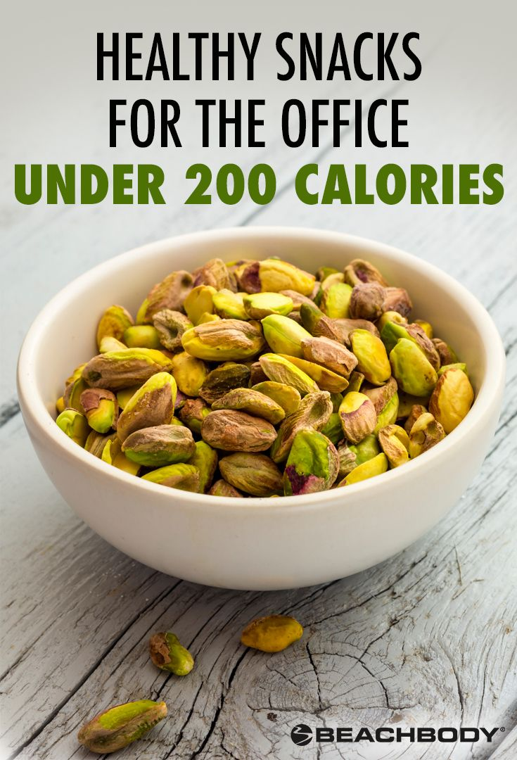 Here are five office-friendly snacks that will help keep your hunger pangs at bay and energy levels high — all for under 200 calories per serving. // healthy snacks // healthy snack ideas // office snacks // work life // work ideas // low calorie // Beachbody // BeachbodyBlog.com