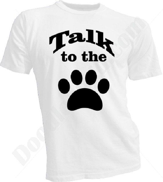 Parlare Con La Zampa - Atteggiamento Manica Lunga T-shirt 6fViWRwI