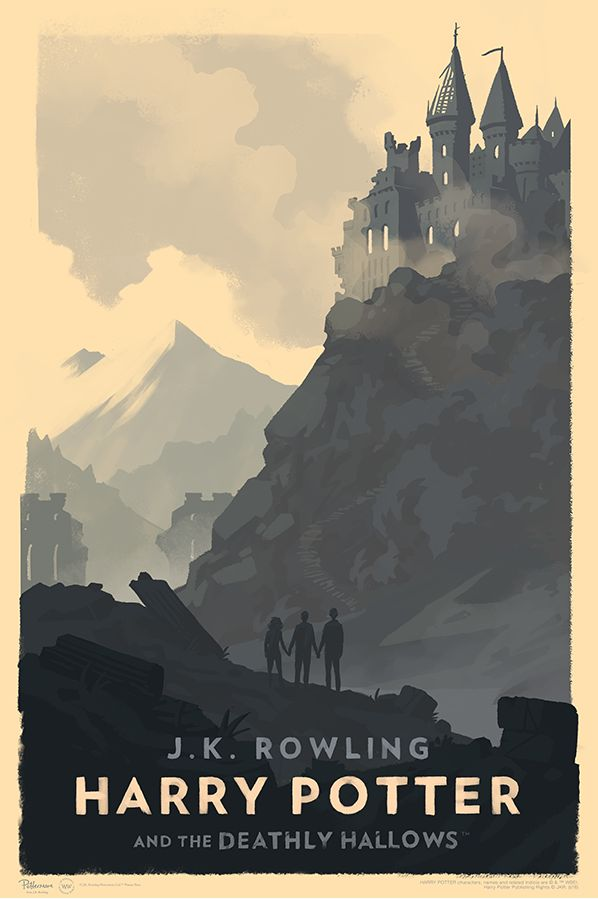 """It's been a long time coming, but these stunning Harry Potter posters by Olly Moss have finally been released. These are all 16"""" x 24"""" giclees for $50 each. You"""