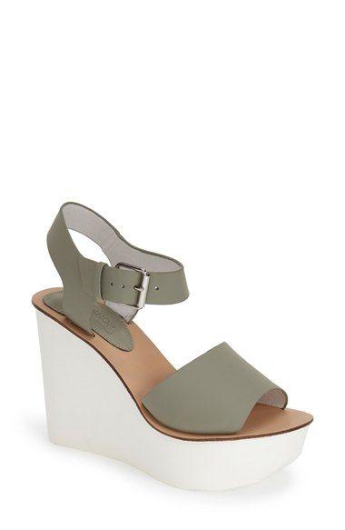 Topshop Platform Wedge Sandal (Women) available at #Nordstrom