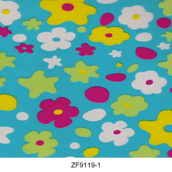 Hydro printing film flower pattern ZF9119-1
