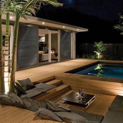 Sunken deck