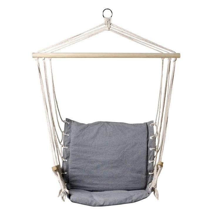 Silla hamaca colgante para exterior o interior for Silla hamaca colgante