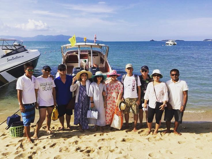 3. May - Happy and satisfied guests back from Koh Nangyuan Island