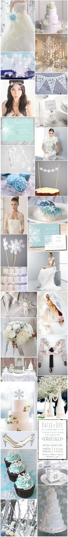 [Inspiration] Mariage flocon de neige