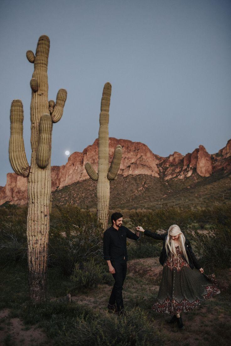 Dawn Photography // Arizona Couple // Desert Life -- Chelsea-Bird.com