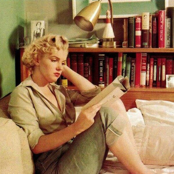 un #libro ti fa bella... #marilyn