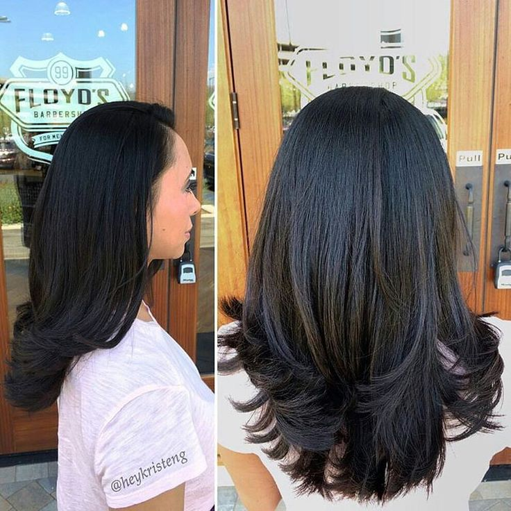 45 Straight Long Layered Hairstyles Hairstyle Guru45 Times Straight Long Hair With Layers Sl Long Layered Hair Long Straight Layered Hair Medium Layered Hair