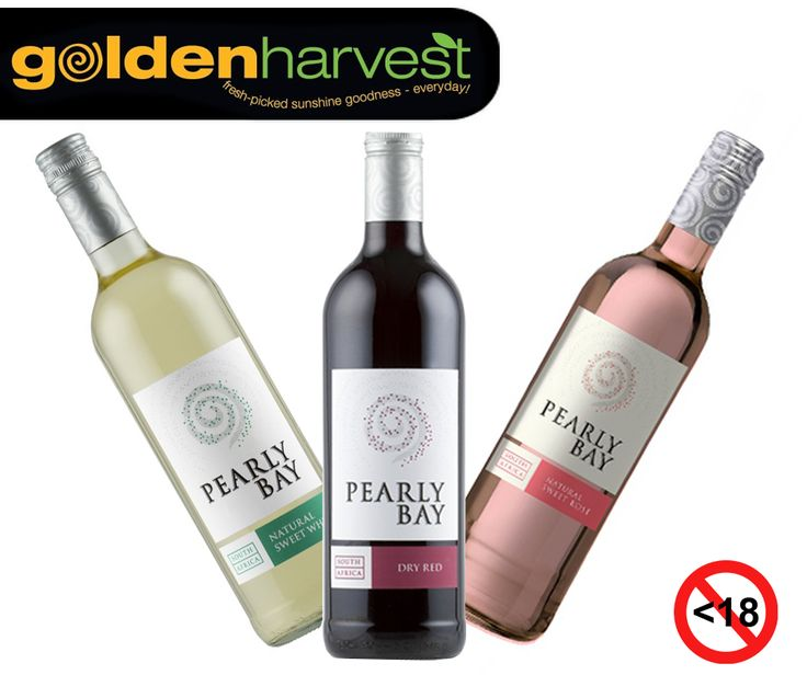 The KWV Pearly Bay Natural Sweet Wine / Red or Rose is an easy drinking wine and ideal to enjoy on this #WineWednesday. Visit our #WineBoutique or pop in at the #EdenMeanderLifestyleCentre for our huge selection of wines. Alcohol not for sale to persons under the age of 18. Drink responsibly. #GoldenHarvest