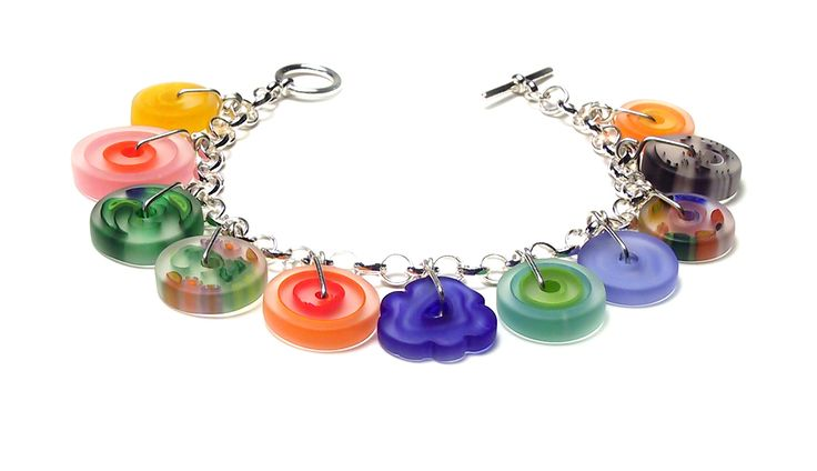 Linda Perrin, American Craft Charm Collection, ACC Charm Bracelet #accshow #accwholesale #acccharm #jewelry #finejewelry