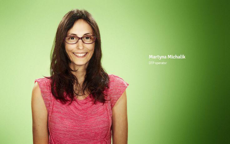 Martyna Michalik DTP operator