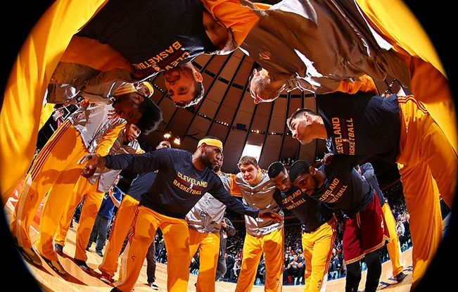 For the first time since 2007, your Cleveland Cavaliers will be heading to the NBA FINALS!  #RT to congratulate them!