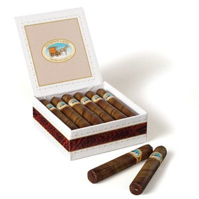 What a delicious novelty these hand rolled chocolate cigars are. Thompson's start with the finest natural ingredients to create each individual cigar for you to enjoy. Sold Individually. - Natural - K