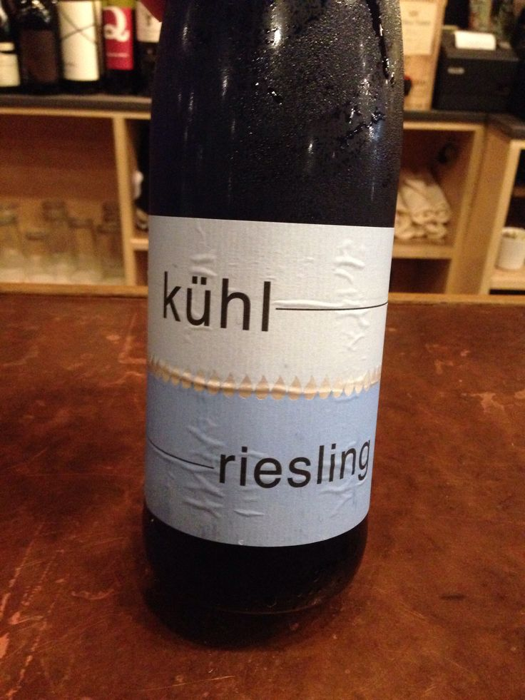 German Riesling dry but sweet mmmmm kuhl