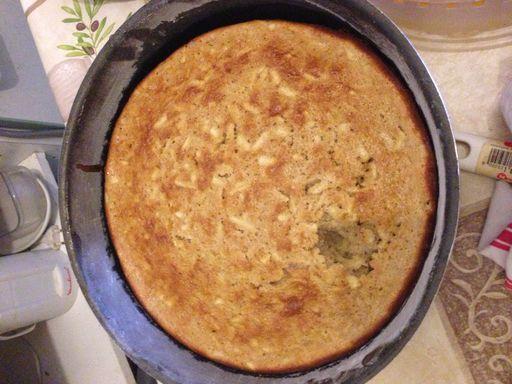 Gâteau yaourt aux pommes râpées