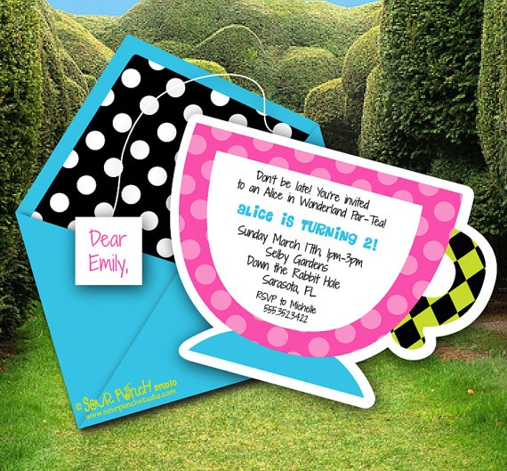144 best alice images on pinterest | wonderland party, alice in, Party invitations