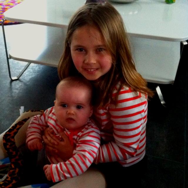 Olivia og Anna