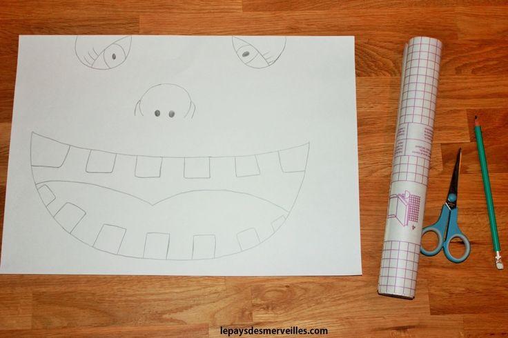 diy hygi ne dentaire un jeu pour apprendre se brosser les dents activit s peinture. Black Bedroom Furniture Sets. Home Design Ideas