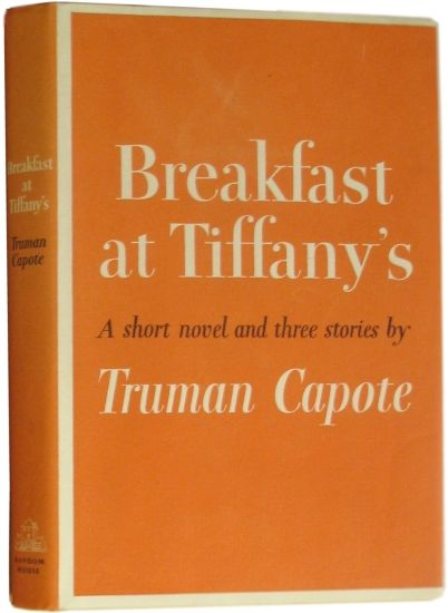 breakfast at tiffanys by truman capote
