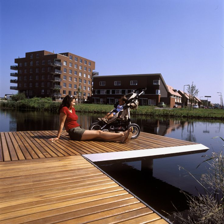 Bridges Nesselande Rotterdam. Design by ipv Delft.