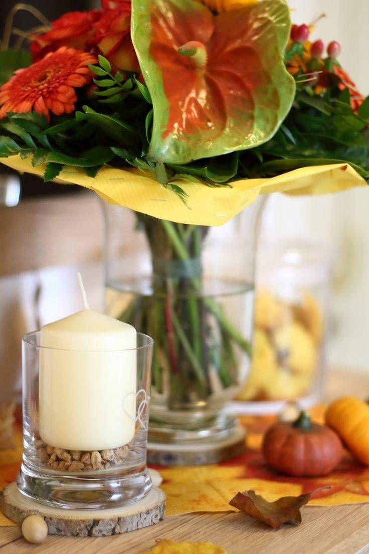 Wohnzimmer Deko Herbst Frisch #gartendeko #garten # ...