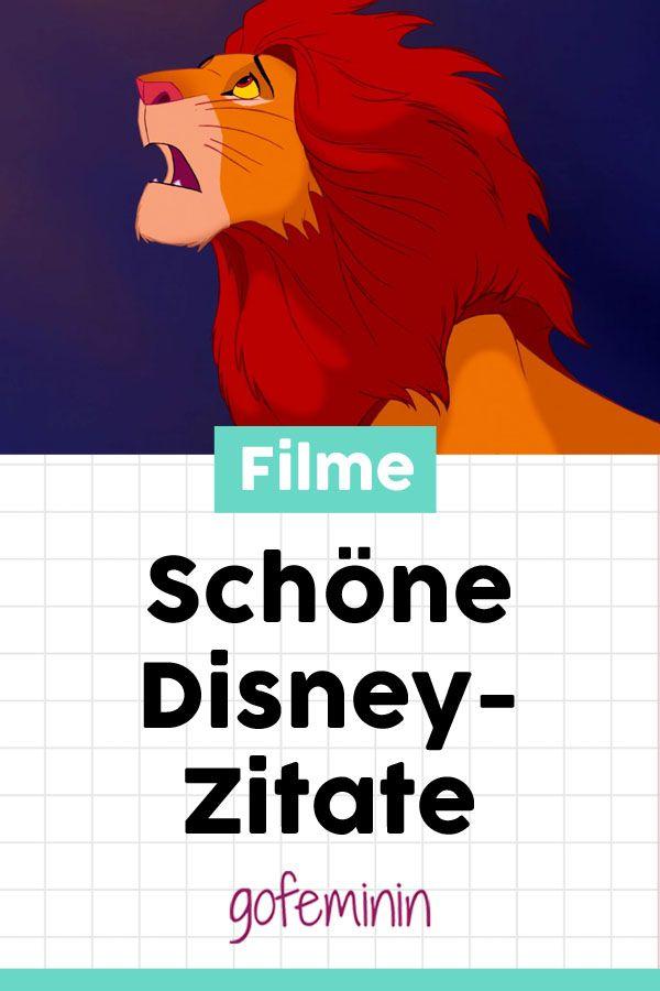 Die Schönsten Zitate Unserer Disney Helden Schöne Disney
