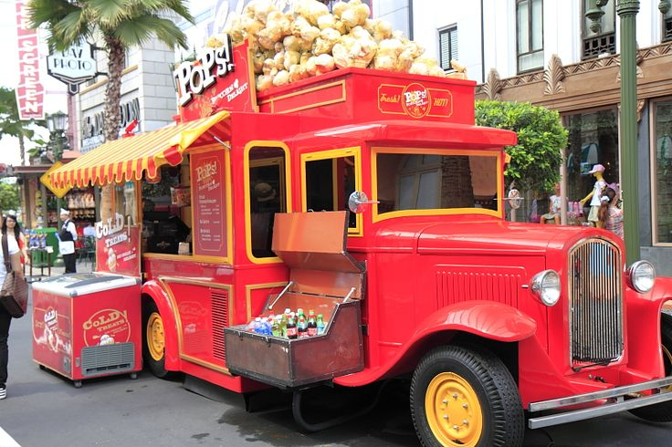 65 Food Trucks to inspire you - Creative Affairs-- This food truck has add-on merchandising space!