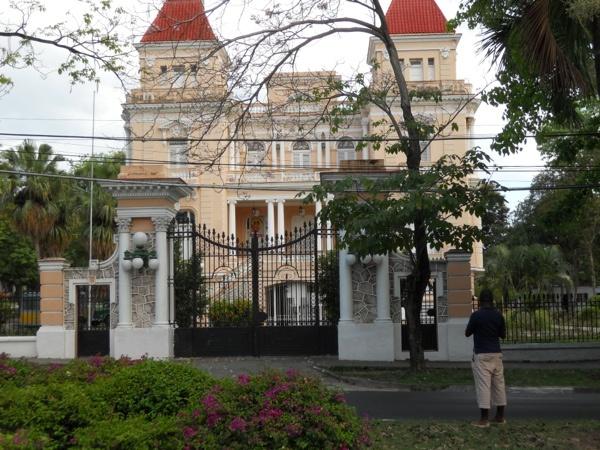 The former Bacardi Mansion in Santiago de Cuba