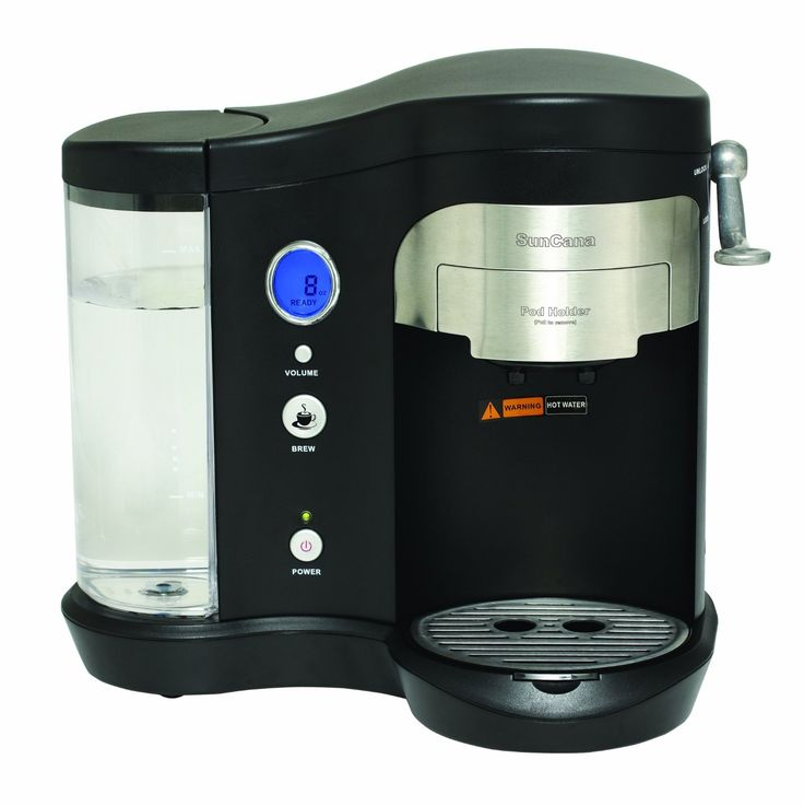 Suncana H701A-BLK Pod Brewer, Black => Amazing product just a click away  : Coffee Maker