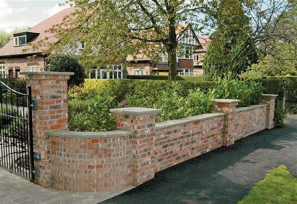 Brilliant Diy Garden Decor Ideas With Old Bricks To Save Your Money The Art In Life Garden Wall Designs Brick Wall Gardens Brick Garden