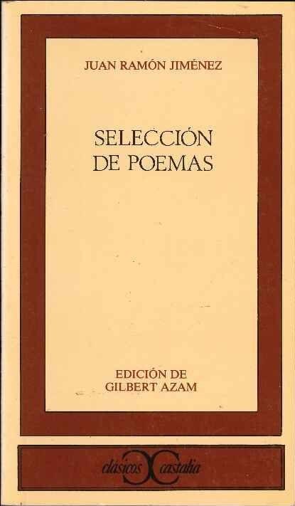 Selección de poemas | JUAN RAMÓN JIMÉNEZ
