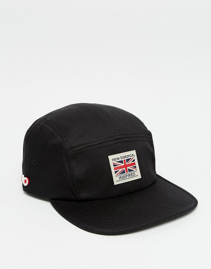 Cool New Balance Adventurer Snapback Cap - Black New Balance Accessories til Herrer i luksus kvalitet