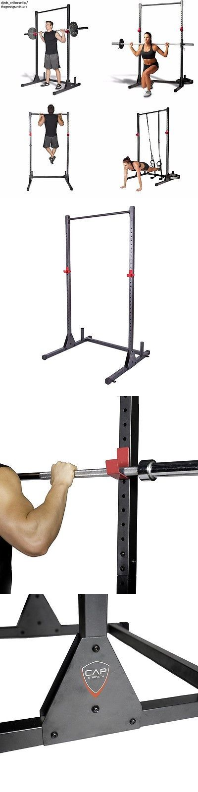 Pull Up Bars 179816: Pull Up Bar Power Rack Squat Stand Cage Exercise Indoor Home Gym Workout Fitness -> BUY IT NOW ONLY: $164.5 on eBay!