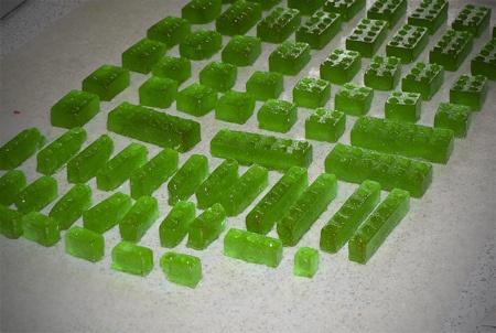 lego mold hard candy sucker by imtopsyturvy.com, via Flickr