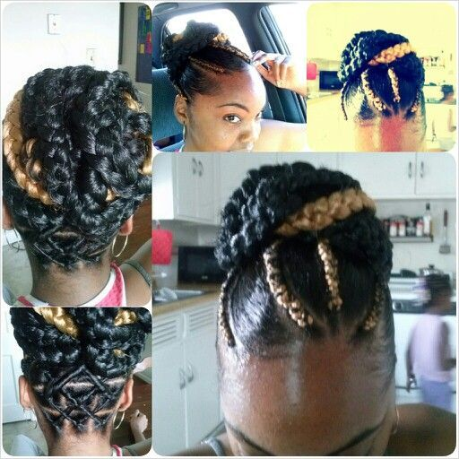 270 Best Images About Natural Hair Braids On Pinterest