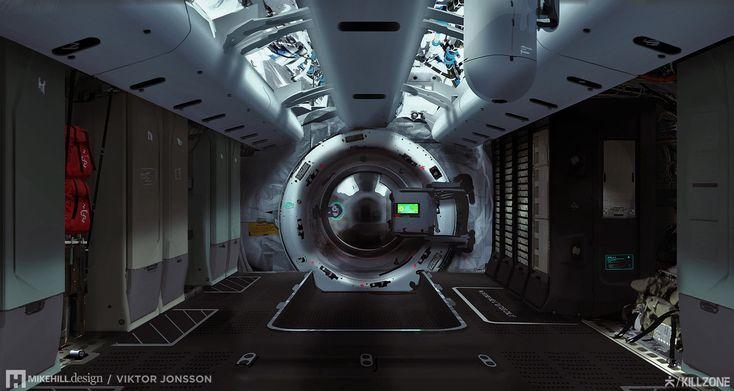 Проектирование теневой Маршал корабля-невидимки | Майк Хилл дизайн