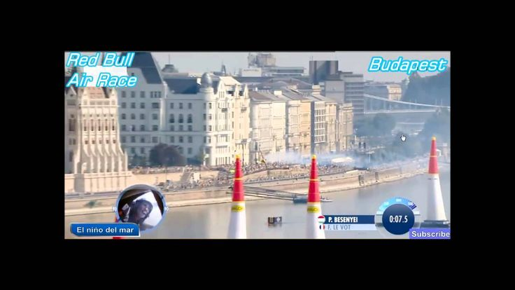 Peter Besenyei hungarian pilot on Red Bull Air Race World Campionship 2015 Budapest
