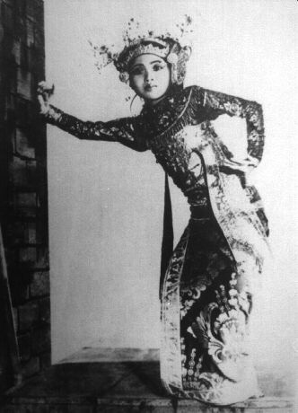 Balinese Legong Dancer in 1930