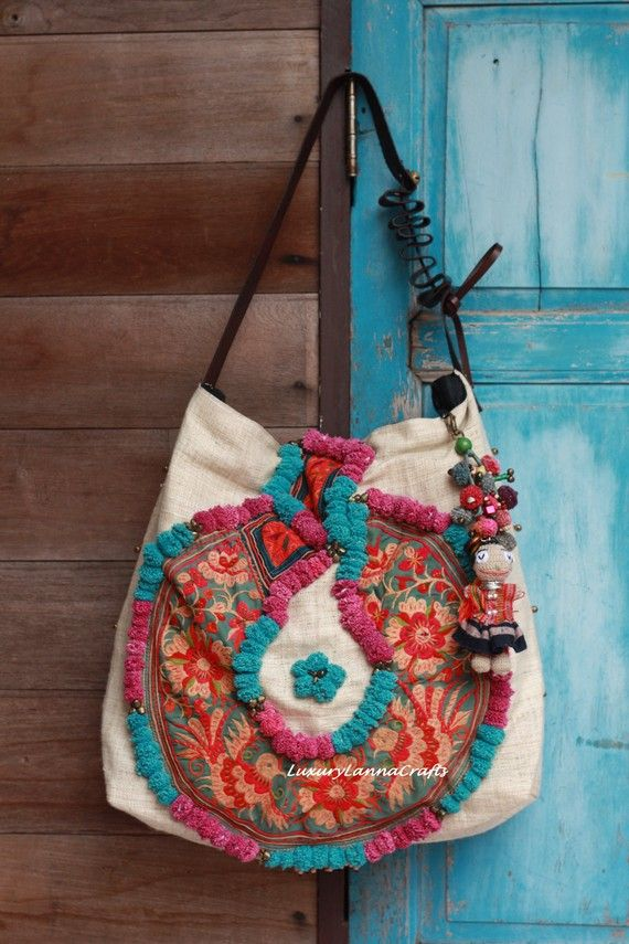 Luxury Tribal Ethnic Handmade Oversized Boho Bag SALE 99 DOLLARS